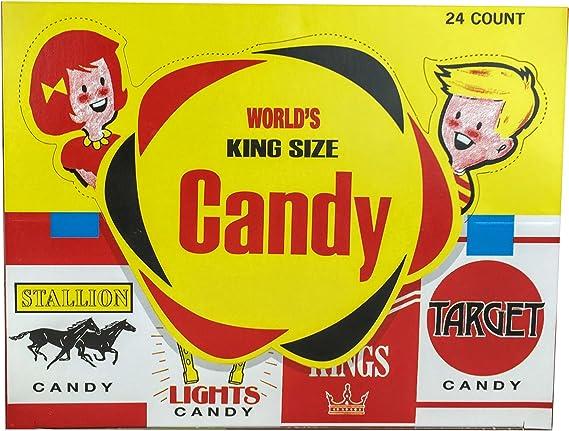 World Confections Candy Cigarettes, Pack of 24: Amazon.es: Alimentación y bebidas