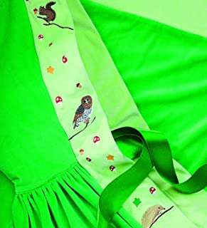 product image for Magic Cabin Nature-Themed Cloaks, Velour, in Green Woodland