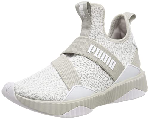Defy Mid Anml Wn S Grey Running Shoes