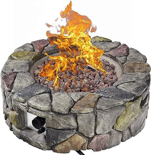Giantex Gas Fire Pit
