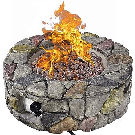 Amazon.com: Giantex - Mesa de gas resistente al fuego para ...