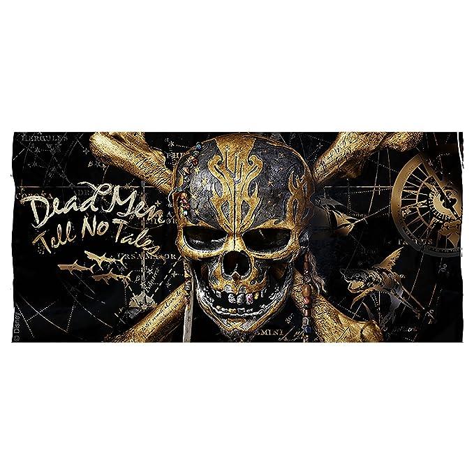 Elbenwald Piratas del cráneo de Oro Copa del Caribe a Salazar Venganza de Disney Negro de cerámica 320ml: Amazon.es: Juguetes y juegos