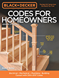 Black & Decker Codes for Homeowners, Updated 3rd Edition: Electrical - Mechanical - Plumbing - Building - Current with 2015-2017 Codes (Black & Decker Complete Guide)