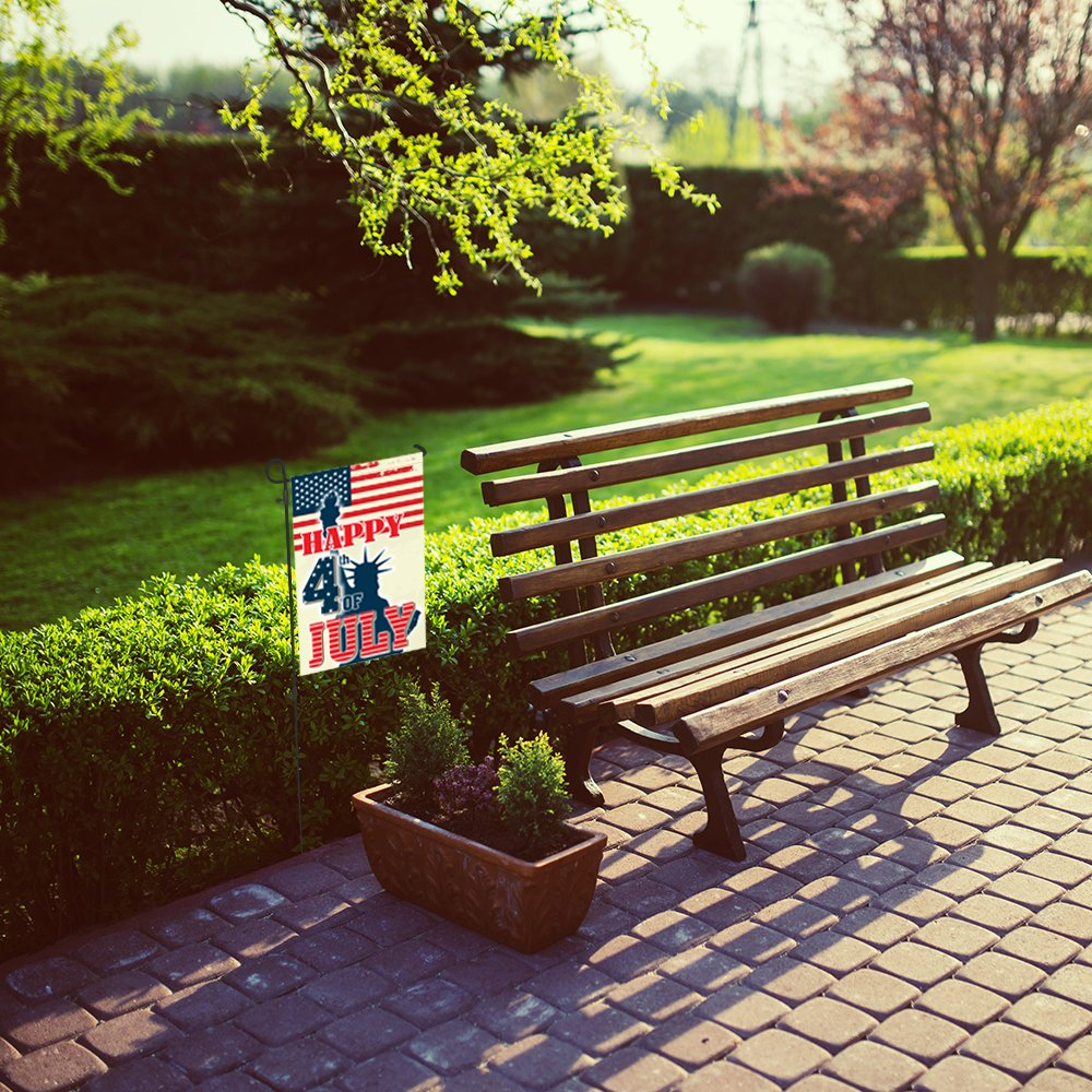 Amazon.com : Home Decorative Outdoor Happy 4th of July, USA House ...