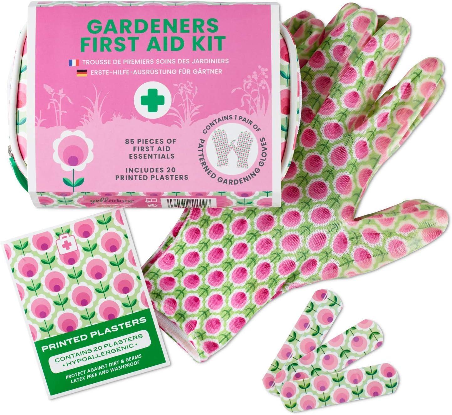 Yellodoor 85 Botiquín De Primeros Auxilios Necesita jardinería para los Regalos de Mamá. Vegano (Púrpura) (Pink)
