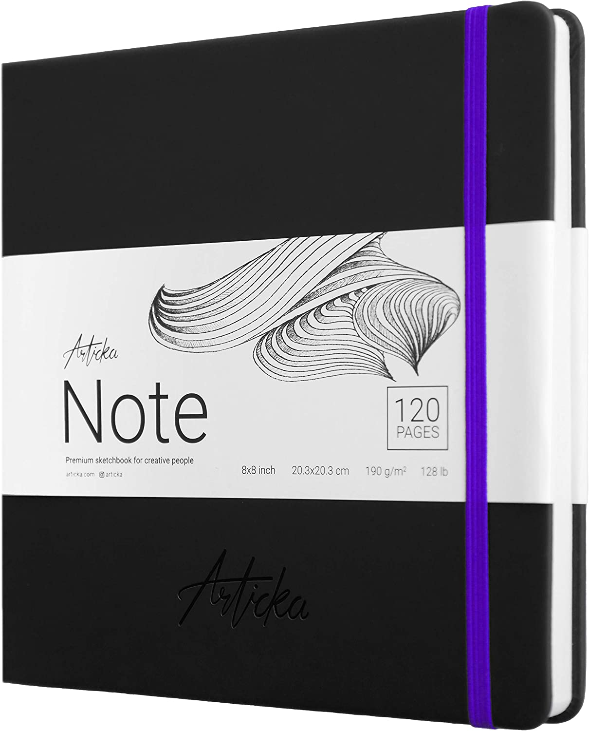 Articka Note Sketchbook – Square Hardbound