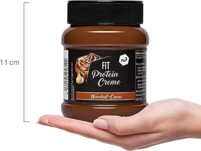 nu3 Fit Protein Creme - 400g Crema de chocolate y avellanas - Sin ...
