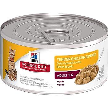 Hill's Science Diet Adult Tender Dinners Chunks & Gravy Cat Food