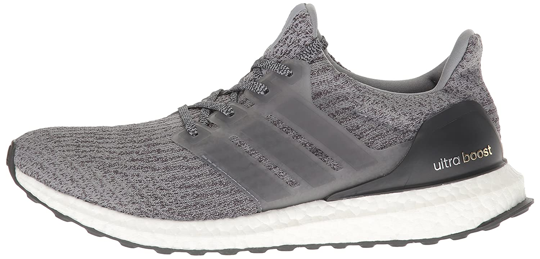adidas Performance Men's Ultra Boost M Running Shoe B01LP67L54 10.5 D(M) US|Grey/Grey/Dark Grey Heather