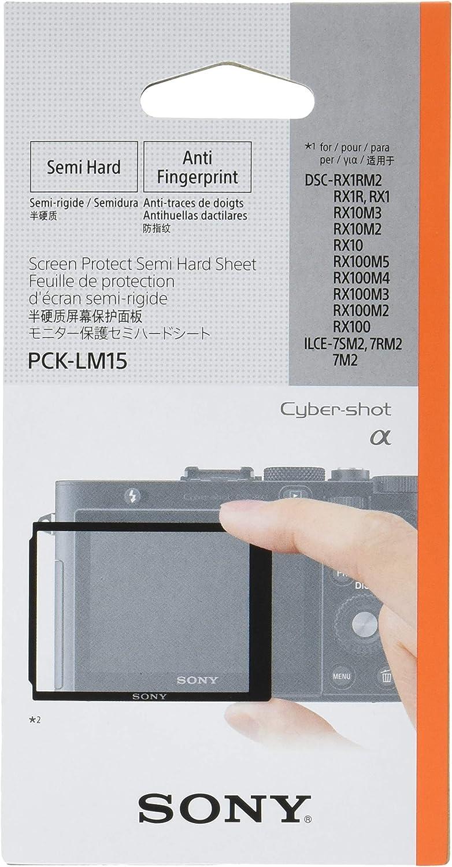 Sony Pck Lm15 Robuste Lcd Schutzabdeckung Für Dsc Rx1 Kamera