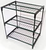 Zenport SH3222A 3-Tier Greenhouse Plant Growing Rack