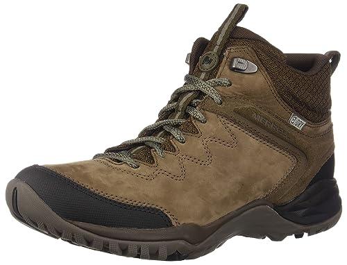 4a7e27b594e52 Merrell Women s s Siren Traveller Q2 Mid Waterproof High Rise Hiking Boots  Grey Slt Blk