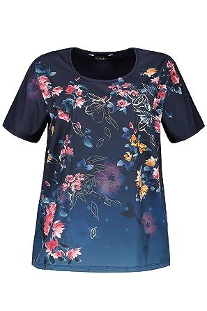 58875f82f41c4 Ulla Popken Femme Grandes Tailles T-Shirt col Rond imprimé Fleuri Ample  717746: Ulla Popken: Amazon.fr: Vêtements et accessoires