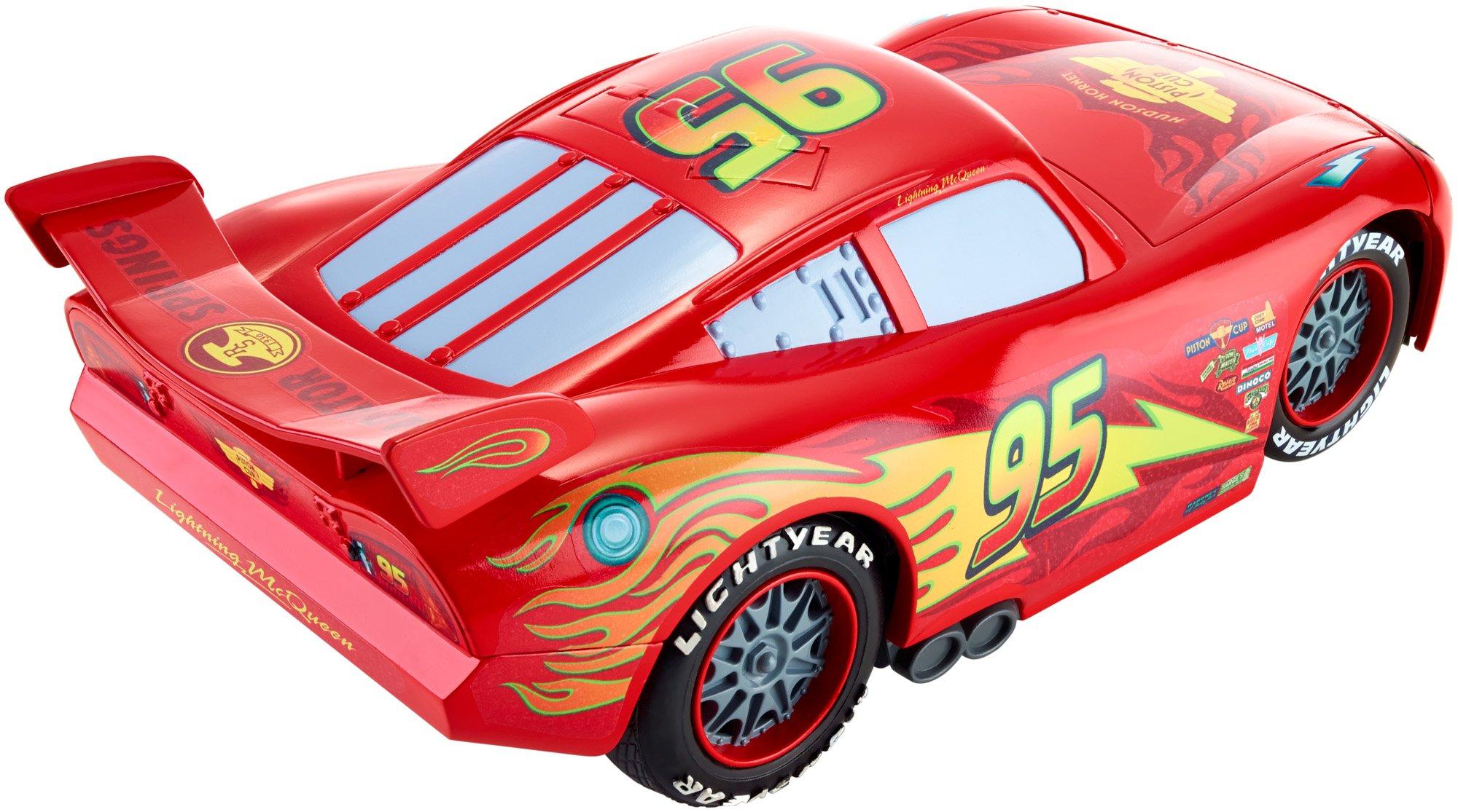 Disney Cars Flag Finish Lightning McQueen Vehicle by Mattel (Image #2)