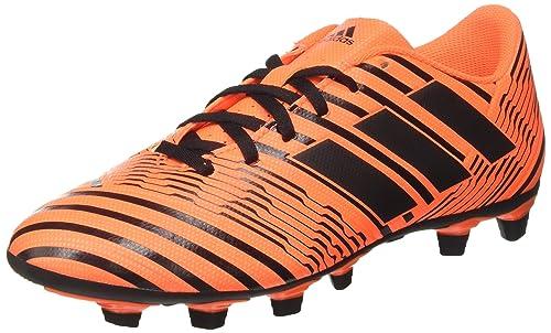 hot sale online ccfa4 dc385 adidas Nemeziz 74 FxG, Scarpe per Allenamento Calcio Uomo, Multicolore  (Solar Orange