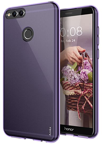 pretty nice c3578 9600d Honor 7X Case, Mate SE Case, Aeska Ultra [Slim Thin] Flexible TPU Gel  Rubber Soft Skin Silicone Protective Case Cover for Huawei Honor 7X /  Huawei ...