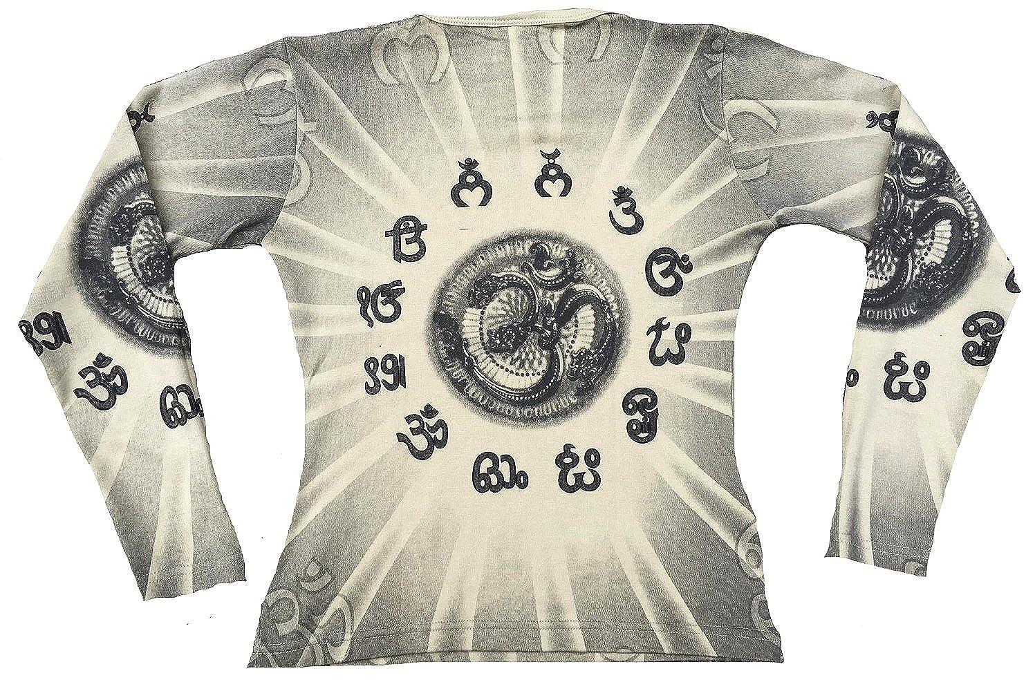 TICILA - Camiseta para Mujer, diseño con símbolo de Om Ohm, Color ...