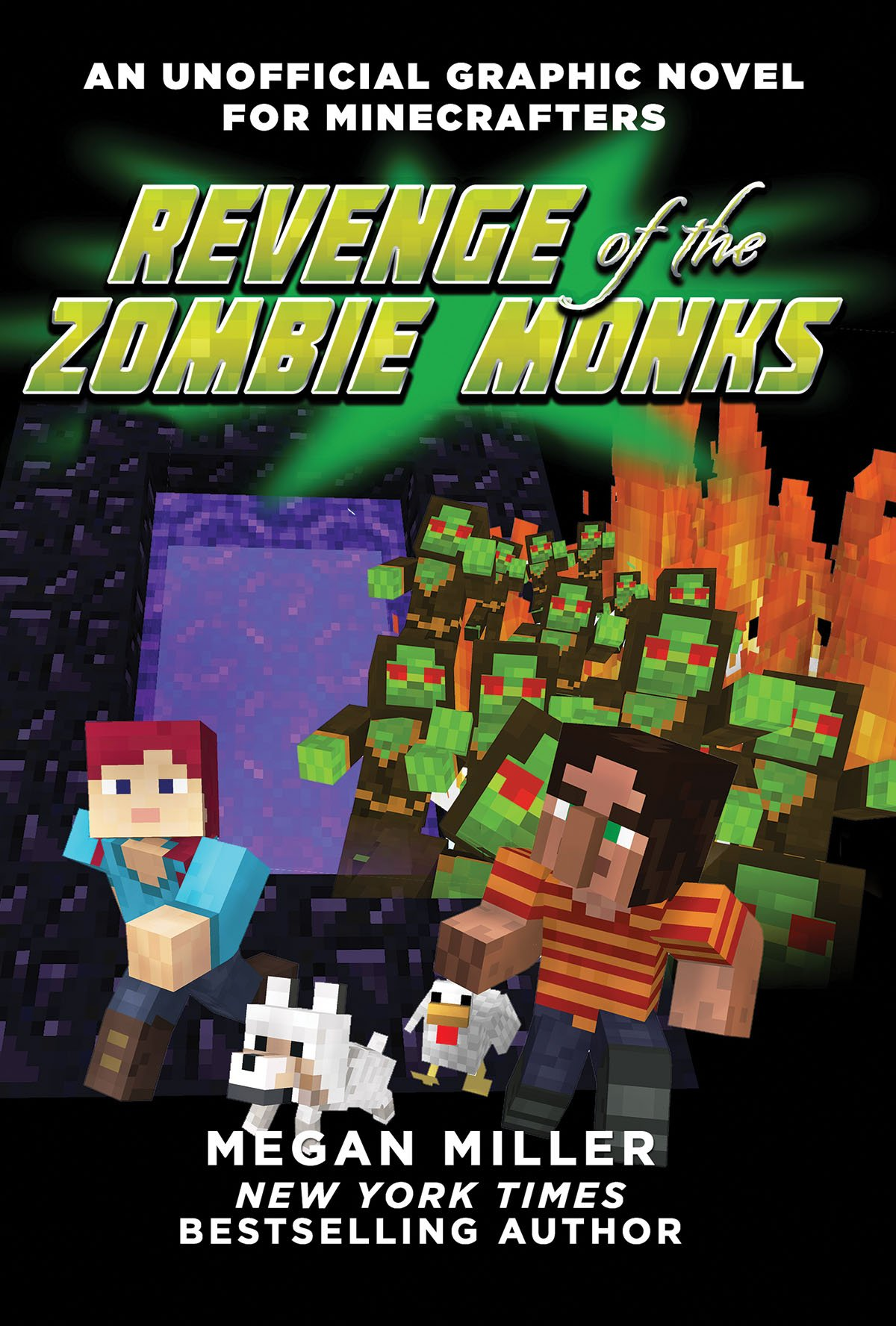 Revenge Zombie Monks Unofficial Minecrafters product image