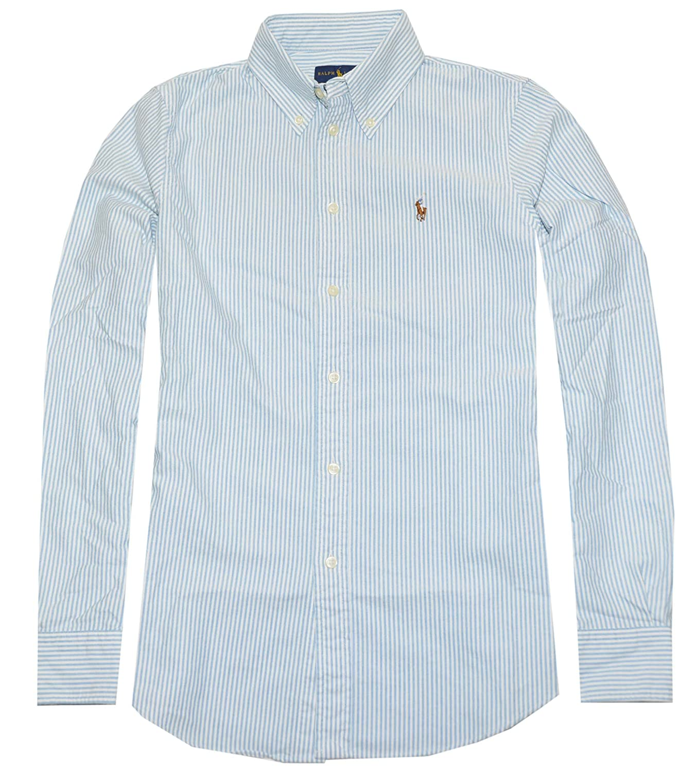5cb5ffdeaae5 RALPH LAUREN Polo Women's Custom Fit Oxford Button Down Shirt at Amazon  Women's Clothing store: