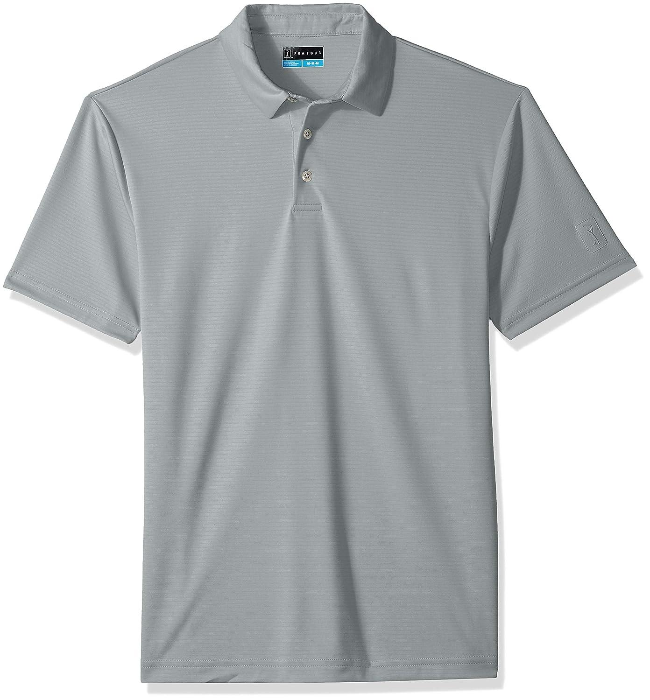 e3fa4439e7 PGA TOUR Men's Short Sleeve Airflux Solid 2.0 Polo Shirt at Amazon Men's  Clothing store: