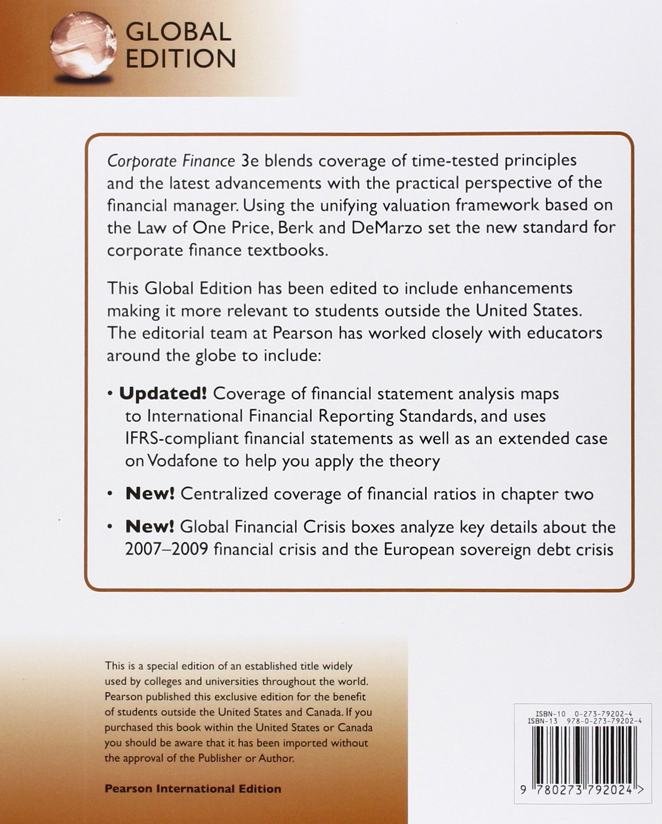 Berk demarzo corporate finance solutions manual ebook coupon codes corporate finance 3rd edition jonathan demarzo peter eds berk corporate finance 3rd edition jonathan demarzo peter fandeluxe Image collections