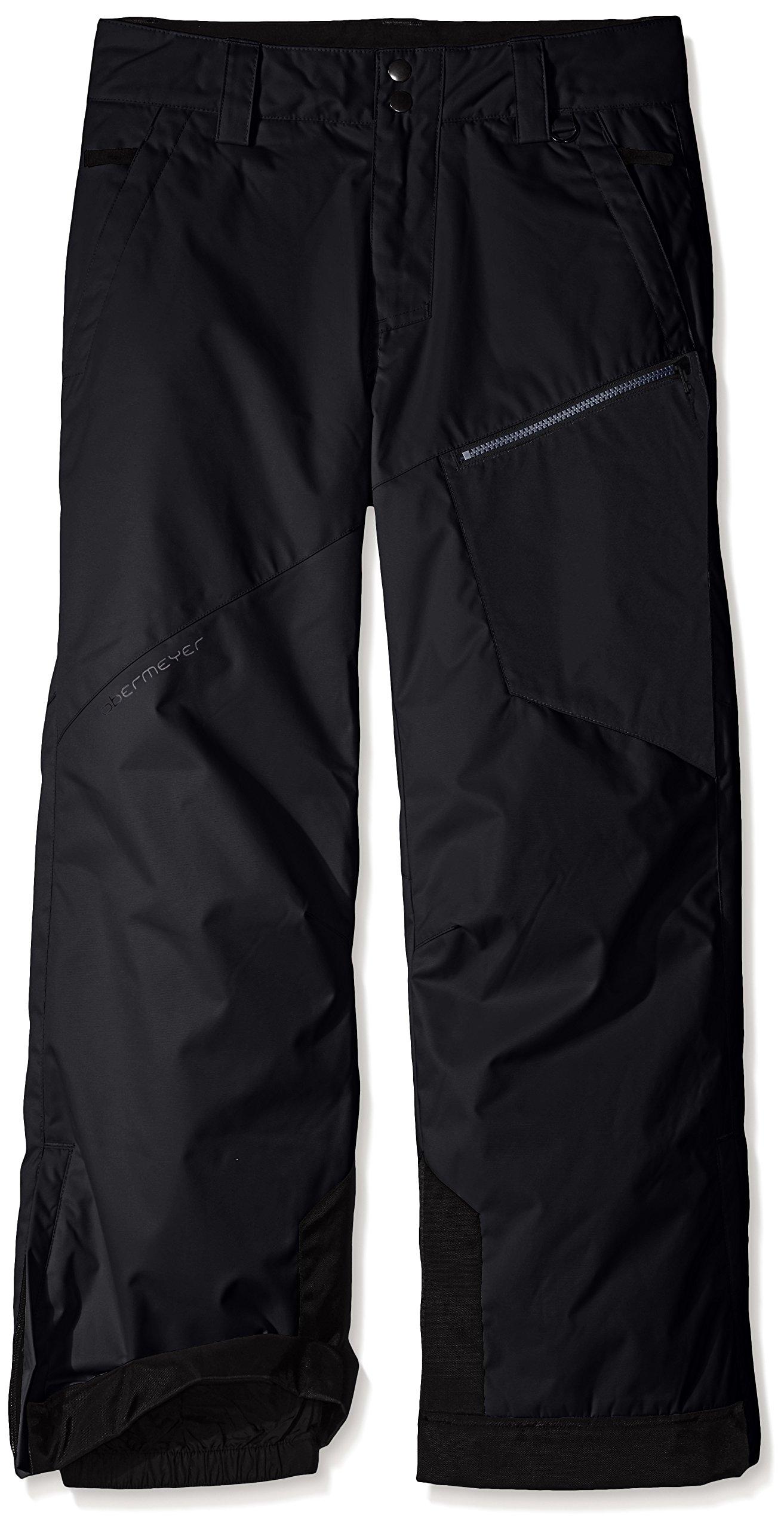 Obermeyer Boys Pro Pants, Large, Black by Obermeyer