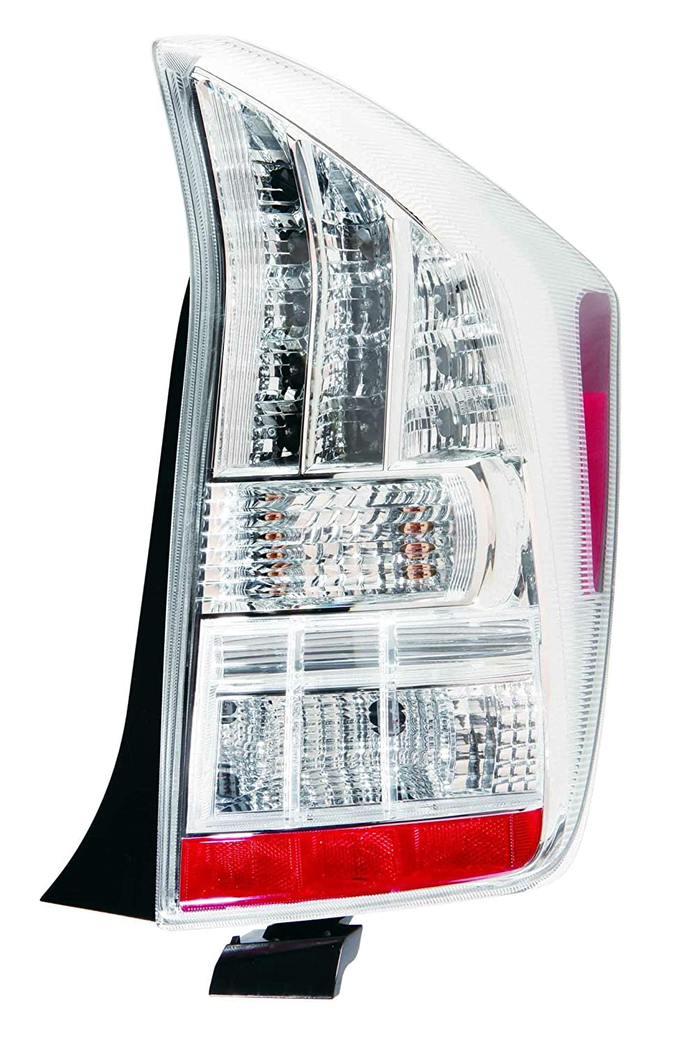 Depo 312-19A2R-WF Toyota Prius Passenger Side Tail Lamp Lens and Housing NSF Certified