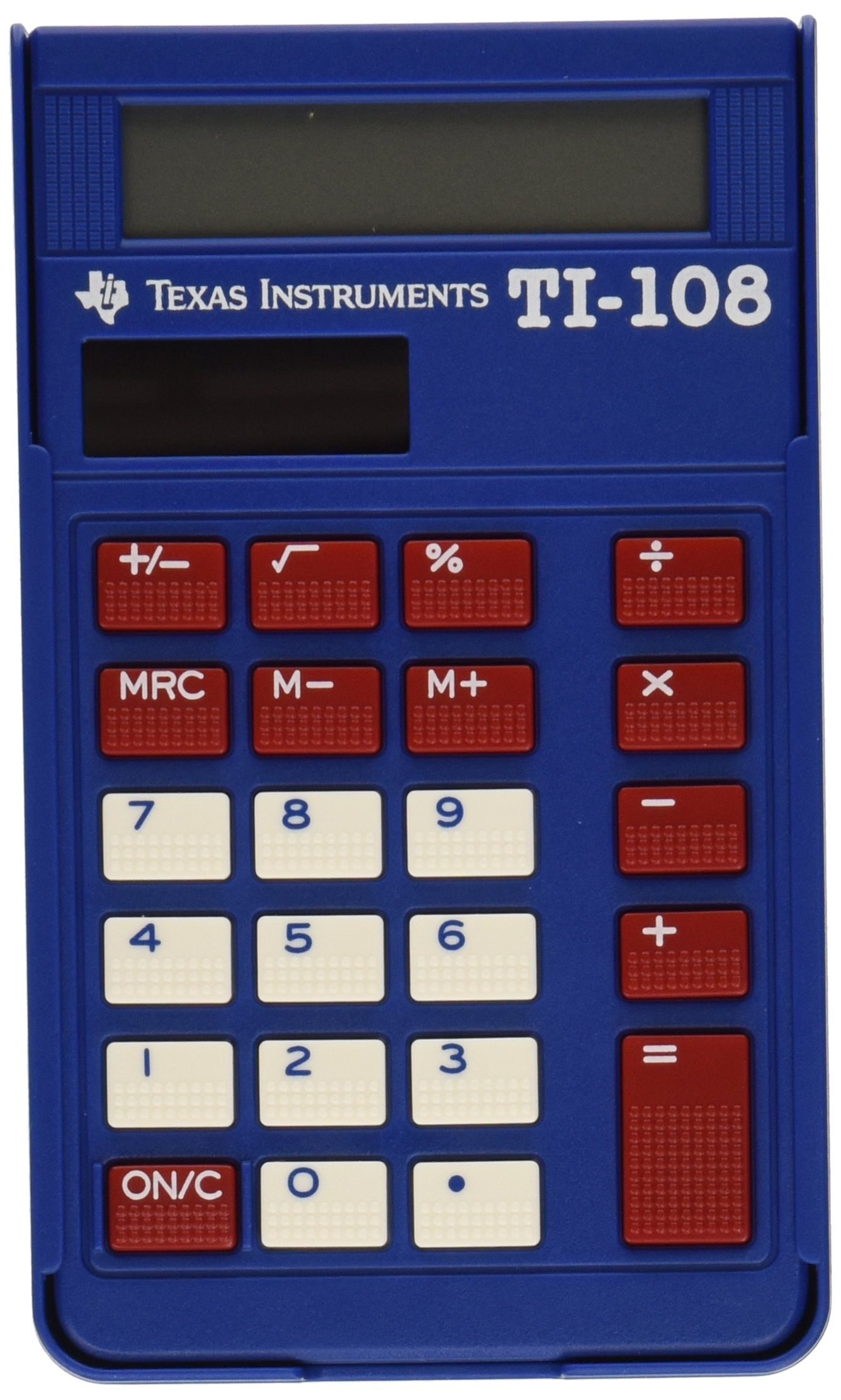 Texas Instruments TI-108 Solar Power Calculator/Teacher's Kit (set of 10) by Texas Instruments