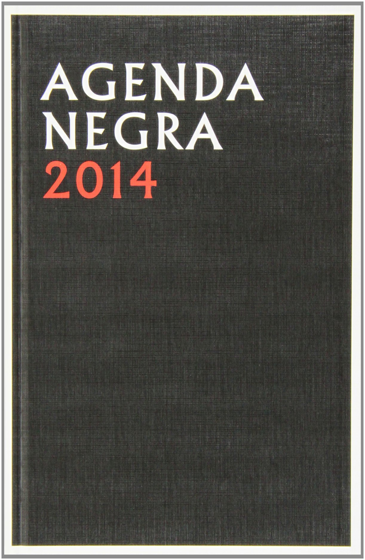 Agenda 2014: negra: Navona Editorial: 9788492840748: Amazon ...