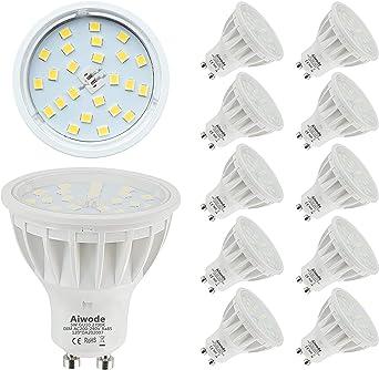 dimmable, LED bulb GU10 600 lumen