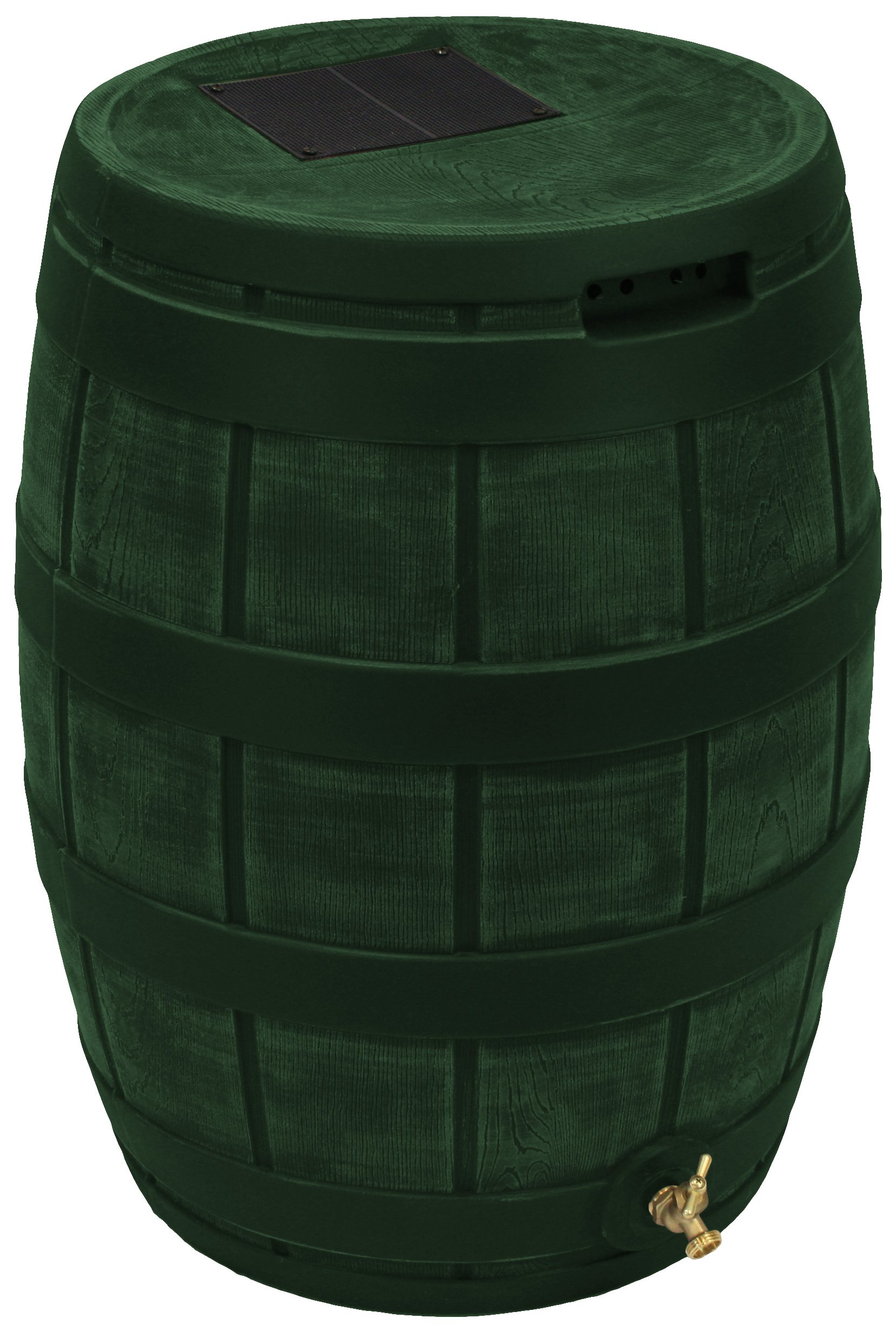 Good Ideas RVT-GRN Rain Vault Rain Barrel, Green