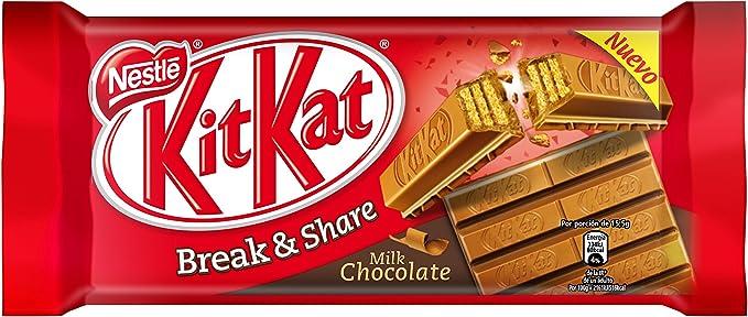 Kit Kat - Galleta Recubierta de Chocolate con Leche - 170 g ...