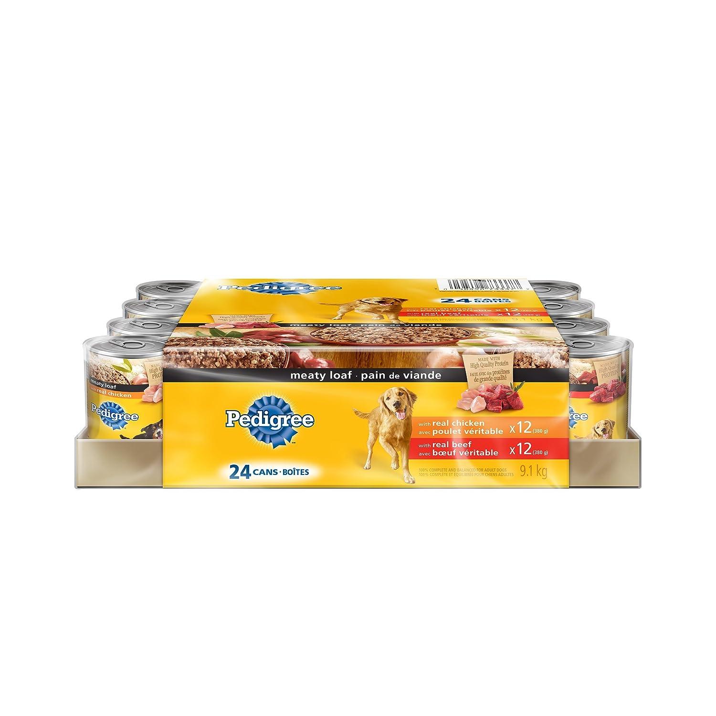 Pedigree Meaty Loaf Canned Dog Food 0 58496 73337 7