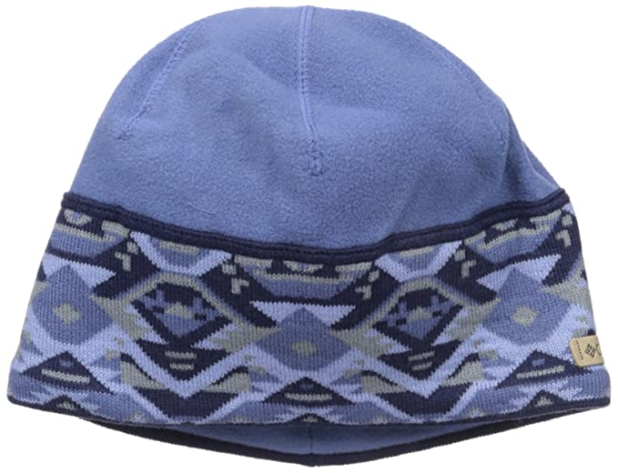 a97ac59e316558 Columbia Women's Alpine Pass Beanie, Bluebell Geo, One Size at ...