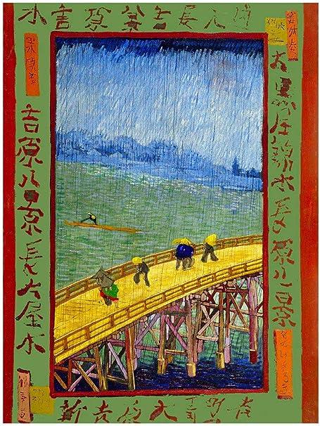 Orenco Originals Bridge in Rain Tribute to Hiroshige Vincent Van ...
