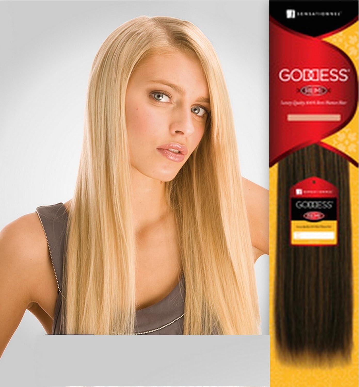 Sensationnel Goddess Luxury Quality 100 Remi Human Hair Amazon