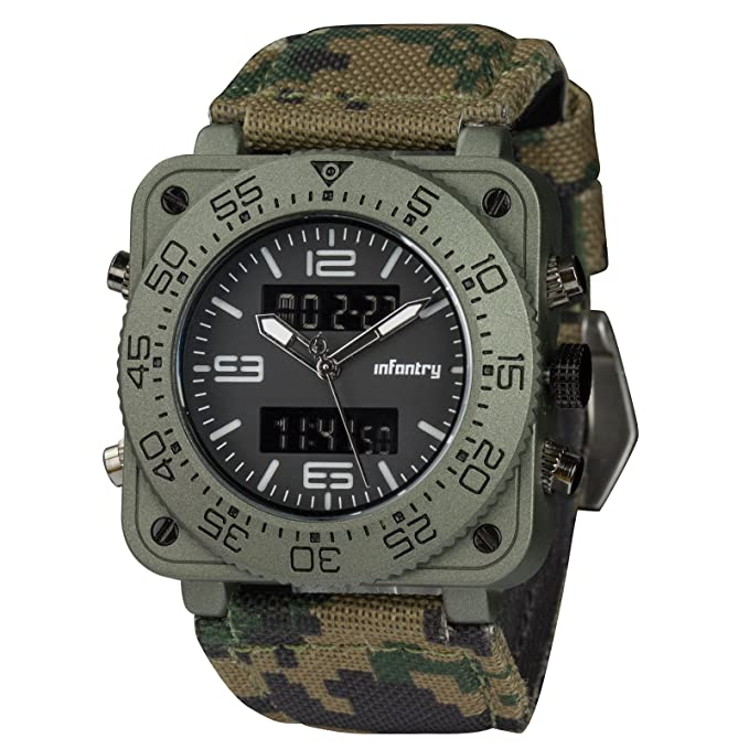 Review INFANTRY Big Face Mens