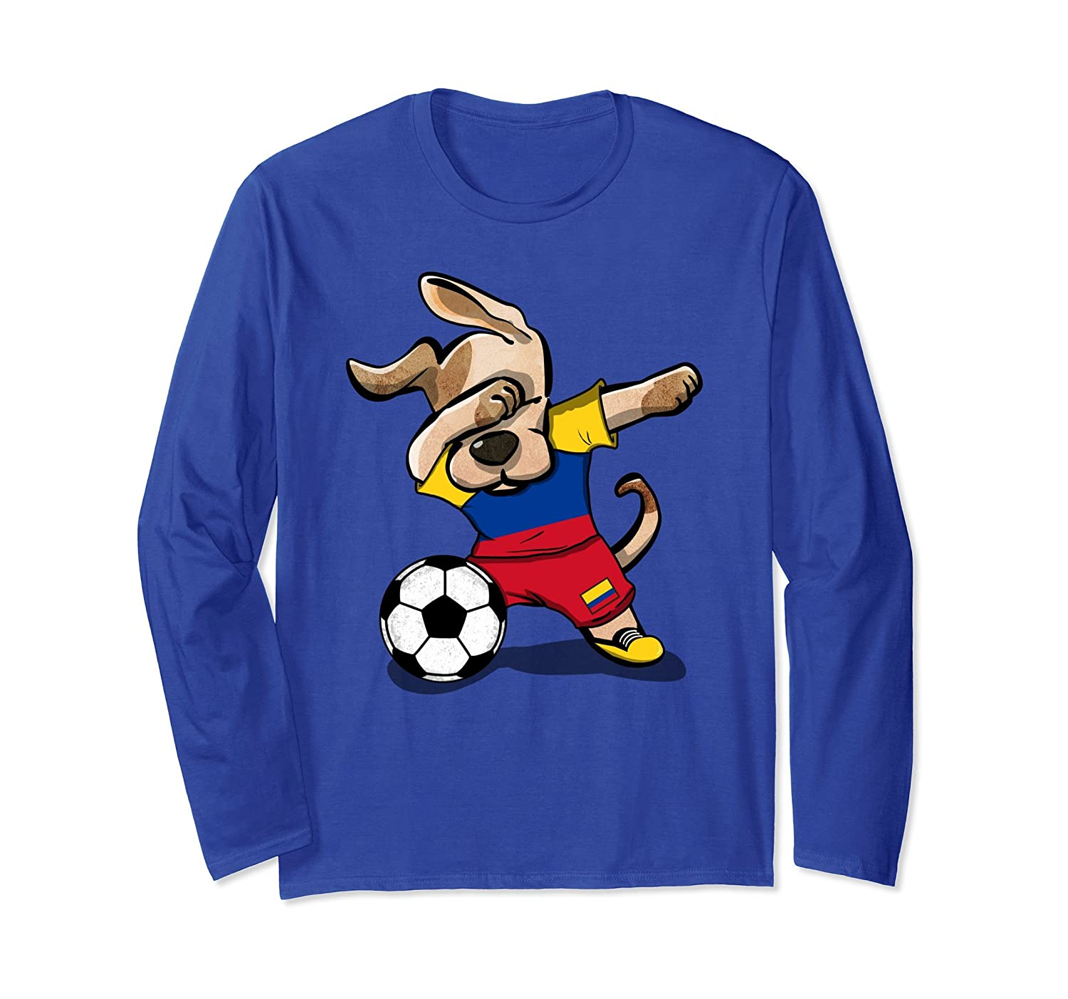 b88c098d084 Dog Dabbing Soccer Colombia Jersey Shirt Colombian Football-prm – Paramatee