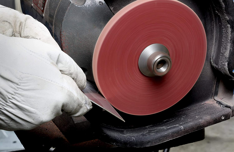 Standard Abrasives A//O Unitized Wheel 882172 821 6 in x 1//8 in x 1 in 10 per case 3M