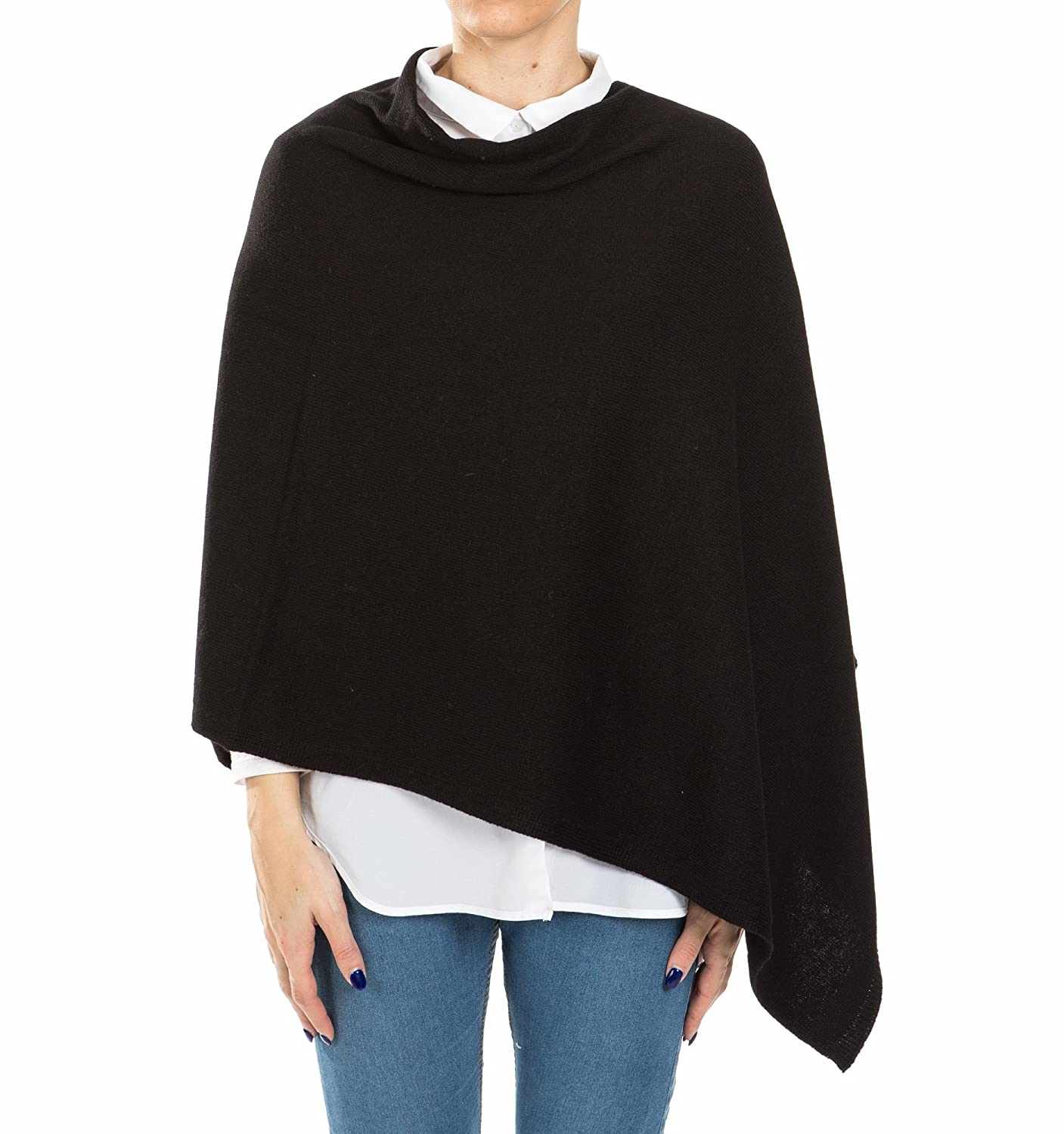Poncho Ligero para Mujer ~ Poncho de punto de ganchillo ~ Top Cape Throw  Bolero ~ a7b65142ea6