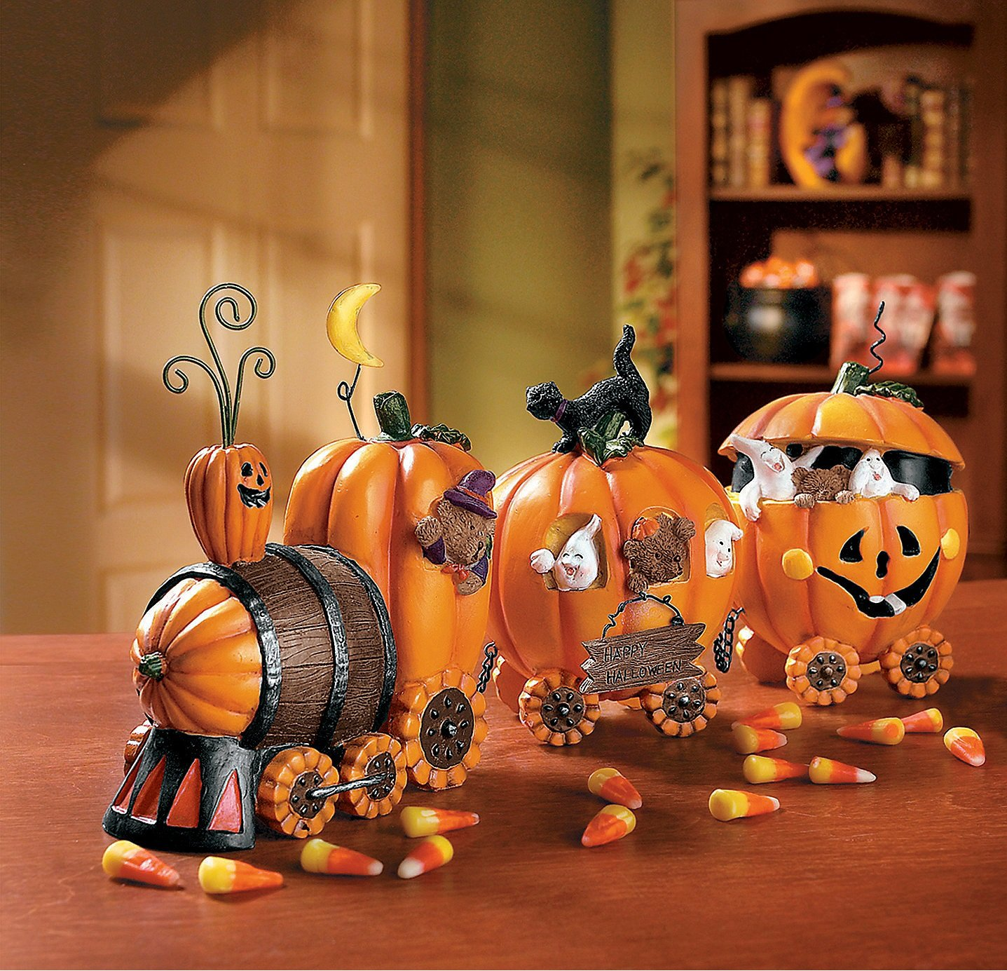 Amazon 1 X The Pumpkin Express Train Decorative Accessories