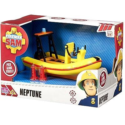 Fireman Sam SAMS Boat Neptune Ages 3+: Toys & Games