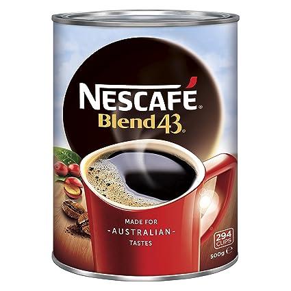 Nescafe Blend 43 17.64 oz: Amazon.com: Grocery & Gourmet Food