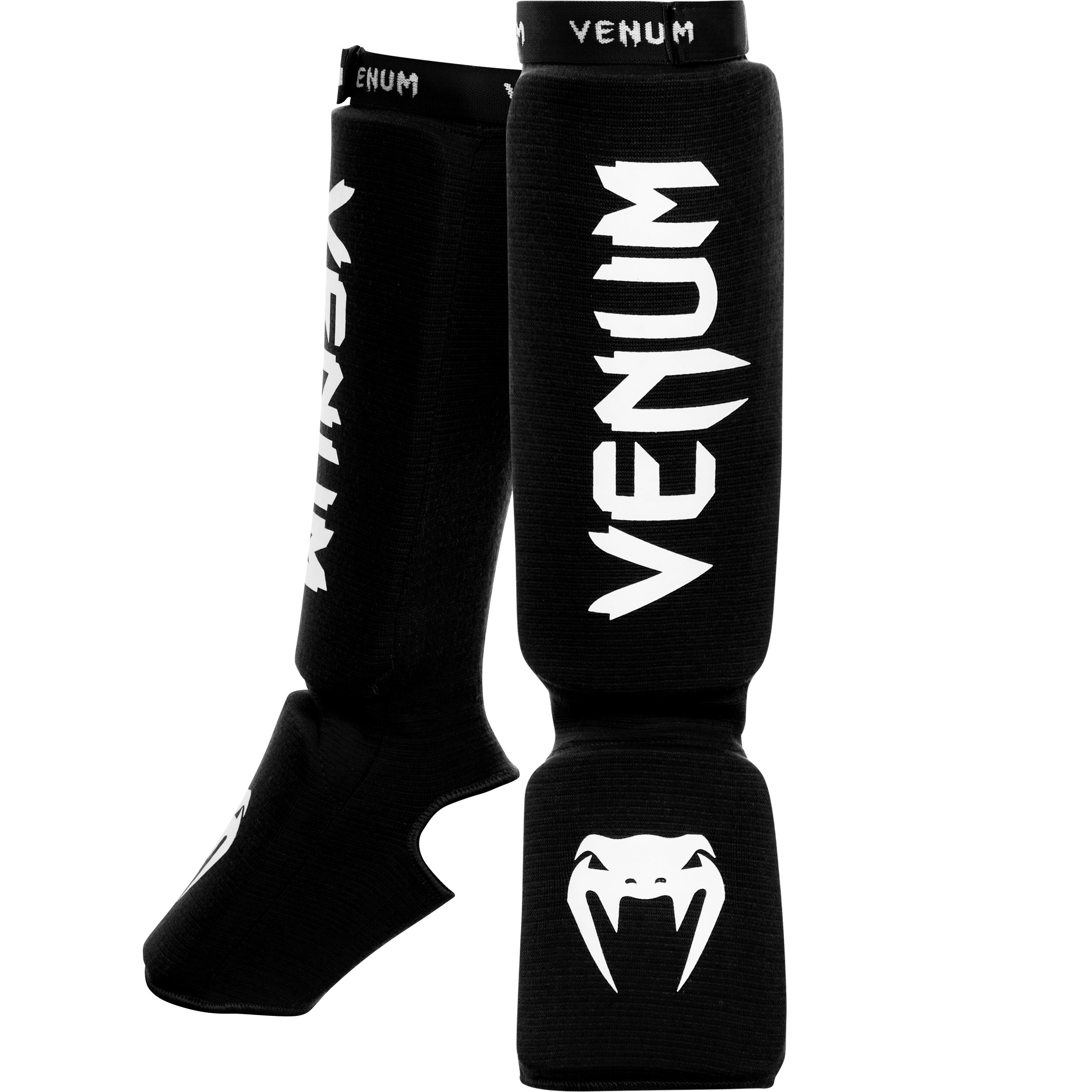 Venum ''Kontact'' Shin and Instep Guards, Black