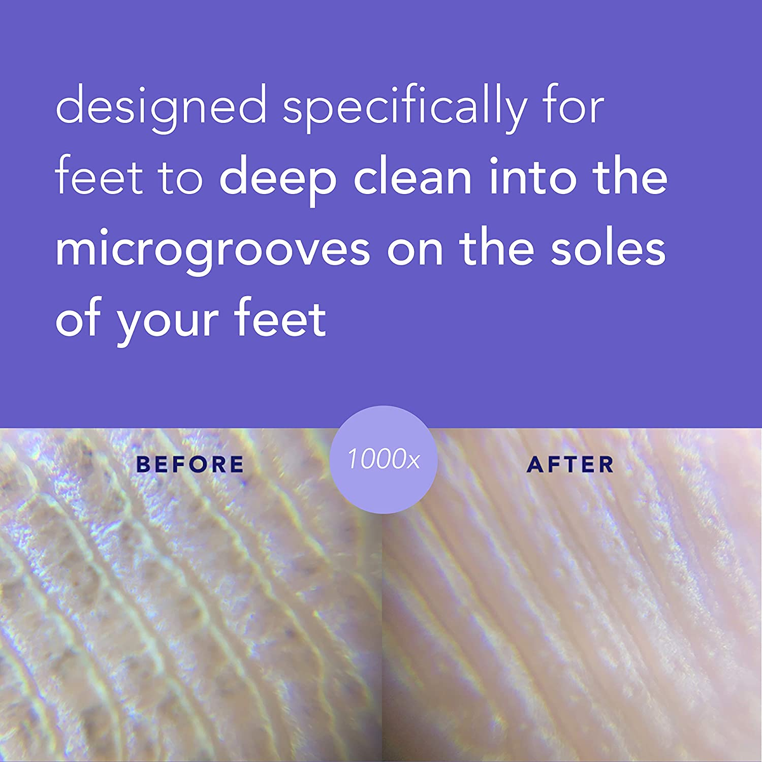 Barefoot Scientist Clean Slate Textured Cleansing Towelettes, Extra-Large, Extra-Strong Foot Disinfecting Wipes : Beauty