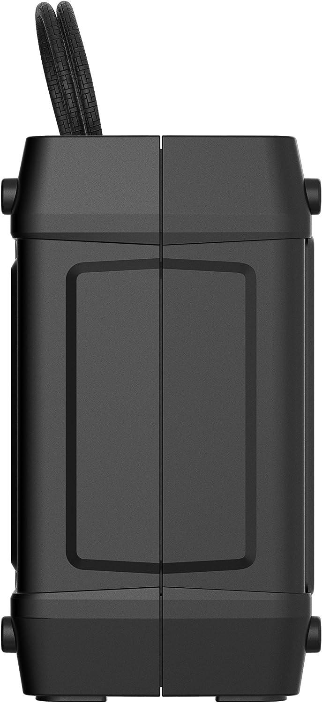 Skullcandy Shrapnel - Altavoz portátil (Recargable, con Bluetooth, Resistente a los Golpes ya la Humedad) Color Negro