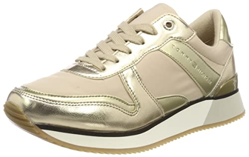 Tommy Hilfiger Metallic Sneaker, Sneakers Basses Femme