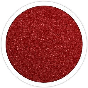 Sandsational Apple Red Unity Sand~1.5 lbs (22 oz), Red Colored Sand for Weddings, Vase Filler, Home Décor, Craft Sand