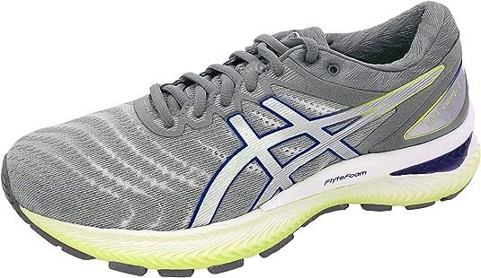 Asics Gel-Nimbus 22 - Zapatillas de running para mujer, color blanco: Amazon.es: Deportes y aire libre