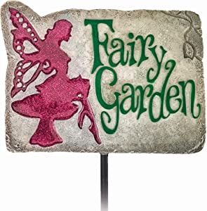 Spoontiques 21217 Garden Stake, Multicolored